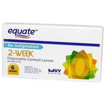Equate 2 Week For Astigmatism contacts