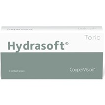 Hydrasoft Toric Options Hydrasoft toric thin (3 pack) contacts