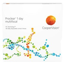 Proclear 1 day multifocal 90 pack contacts